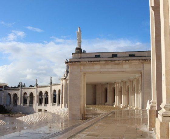 fatima tour shrine side panoramic