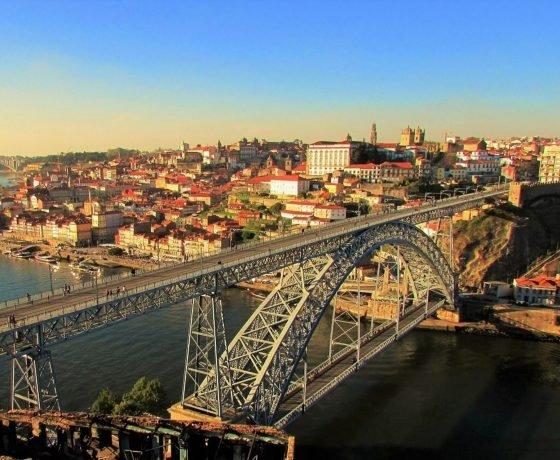 Luis bridge in Porto