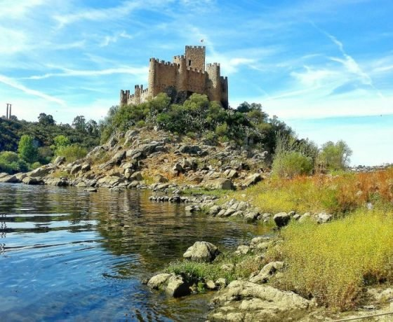 Portugal trips Castle surrounded by water