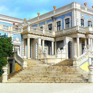 staircase queluz palace sintra